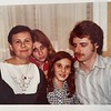 l. to r.:Nira, Shirley, Efrat, Ken. 1978?, Tel Aviv.