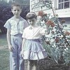 Kenneth and Rita Lipman, 1959, Lincolnwood. I am dubious of the process.