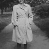 Regina Weinbaum (my mother), 1945, Sweden, 3 months after rescue from Ravensbruck concentration camp.