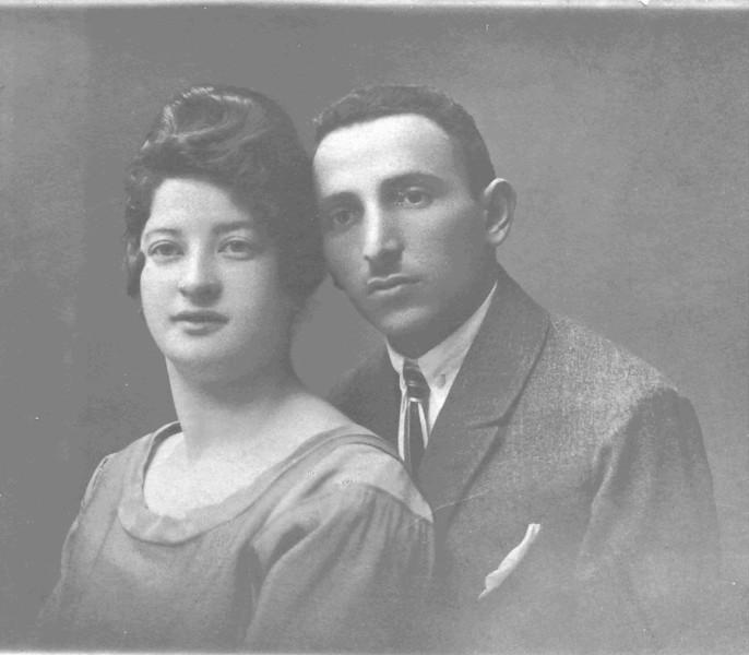 Shlomo and Rachel Weinbaum, my grandparents.