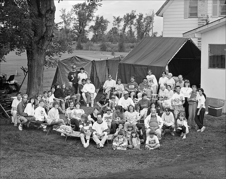 Lauzon Family Reunion, Apple Hill, n.d.