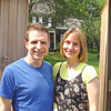 Ken Lipman with best friend Jean Marie, at Walt WHitman's House, Huntington NY
