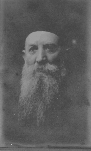 Yaakov Brandzel, c. 1920, Lodz. My great-grandfather.