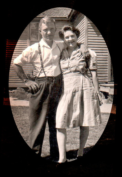 Joe and Anna Lauzon, 1948
