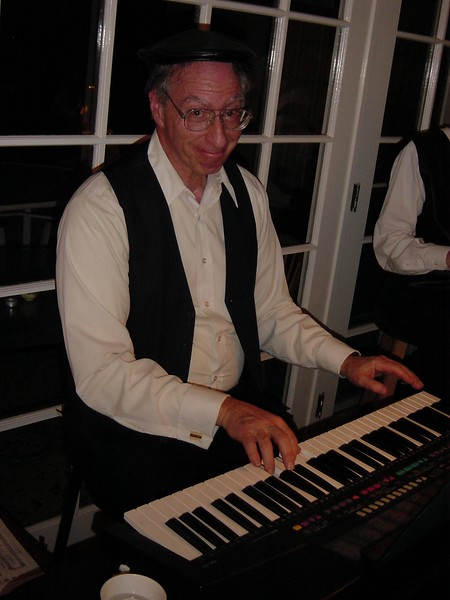 my cousin, Bob Brandzel, at my sister's house