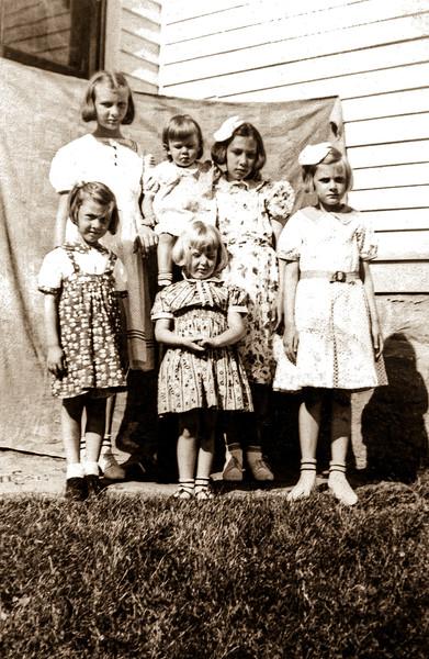 4 - Six Barman Girls c1939