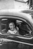 13 - Janie Barman in Car c1949
