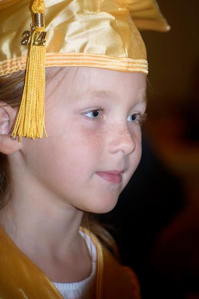 Jennifer Kindergarten Graduation