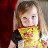 Niamh fell in love with cheese and onion crisps on our last trip to the UK.