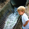 brayden LOVED this waterfall!