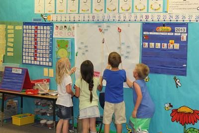 Bryant's classroom!