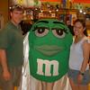 At M&M World in Las Vegas