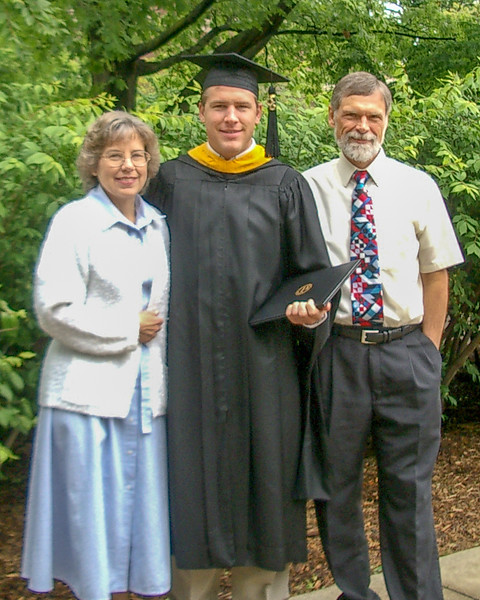 Andy's graduation from Purdue University