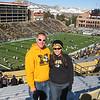 At the Mizzou-Colorado football game