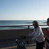 Walking the Ventura beach walk