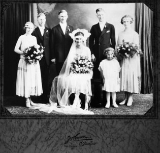 1924-10-25 Roy Maude Miller marriage-3