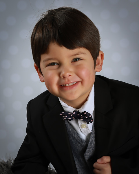 Trevor's school pictures (from Belle's and Beau's Daycare)