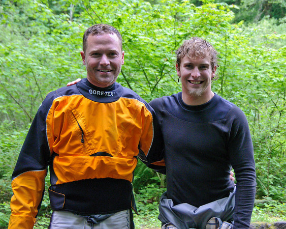 These are the two kayakers that went over Metlaka Falls