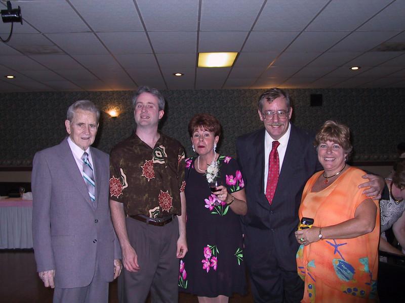 2002 Larkins<br /> Ed, Allan, Kathleen, Jim & Kim