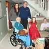 December 25, 2008 - Four Generations Of Larkins<br /> Ed & Nora Larkin (parents), Jim Larkin (son), Kerrie Larkin (granddaughter) and Shannon Davis (great granddaughter)