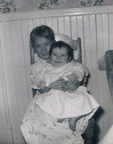 Denise_Pye_and_Karin_1956