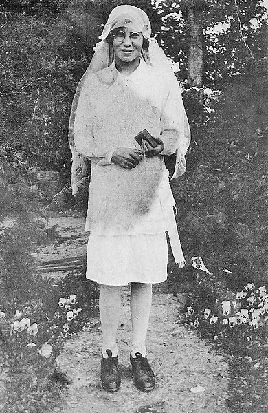 Delia Monahan Confirmation 1928a
