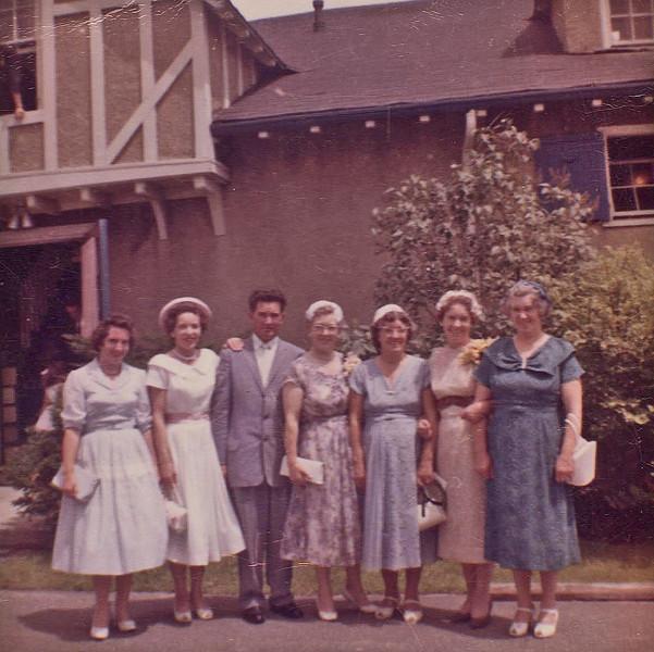 1960's Monahans: Nancy, Nora, Jack, Frannie, Catherine, Margaret & Mary
