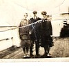 Katie Monahan, Mattie Flynn, Teresa Kane 1927 going to America on SS Dresden