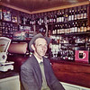Jack Ward at Glynn's, Kilchreest 1972a