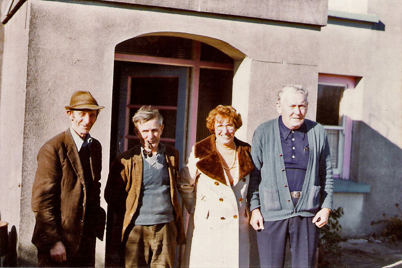 Jack Ward, Mick Monahan, Mary and Patsy Connolly 1978a