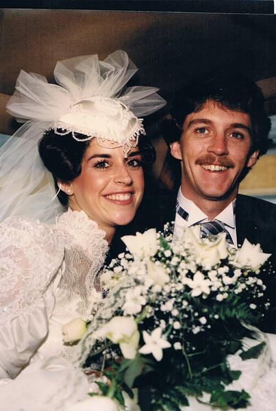 Jill and Michael Loftus' wedding
