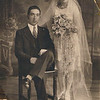 Harry and Mom wedding 1929
