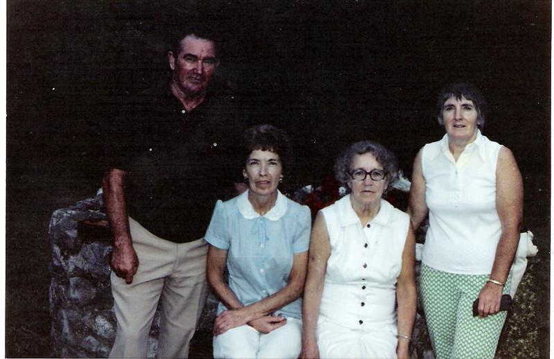 Jack Monahan, Nora Larkin, Catherine Dupee, Nancy Monahan 1986