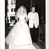 "June 22 1958  Bernard ""Pat"" Loftus and Patricia ""Patsy"" Maguire wedding St. Paul's Cambridge, MA"