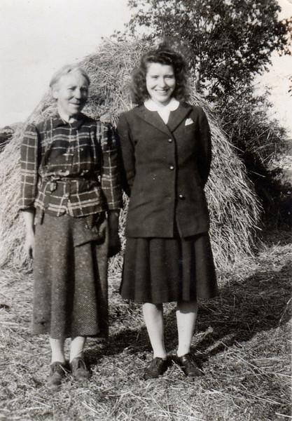 Mary Monahan & Clair Ward