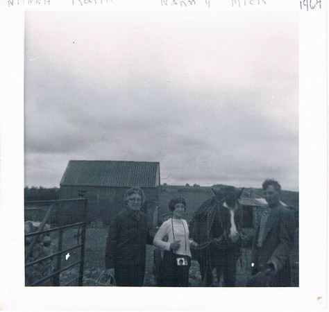 1966 Catherine, Karin & Mick