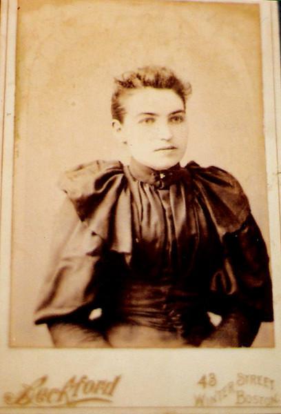 Annie Monahan Linnane before 1914 in Boston1
