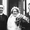 Frances Dominick Prendergast wedding June 19 1937 with Fr Joe Monahan2