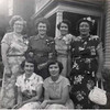The Monahans (Late 1940's???) In Back: Frances, Mary, Margaret & Catherine In Front: Nancy & Nora