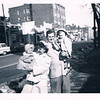 Joan, Sue, Dickie and Tommy - April 1956 Easter Sunday