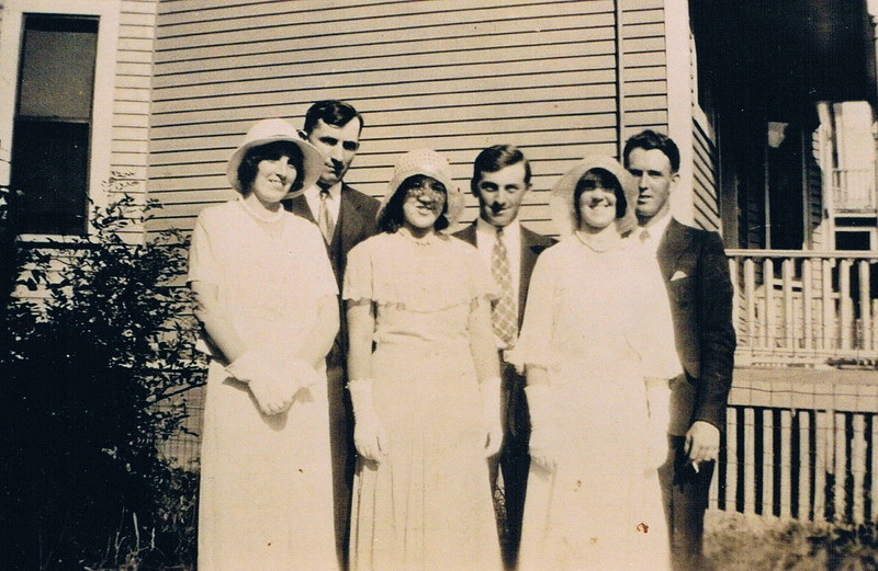 Mae Corliss Paddy Frank and Mary Howley