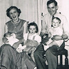 Margaret & Tommy Monahan with their children Tommy, Carol & Michael