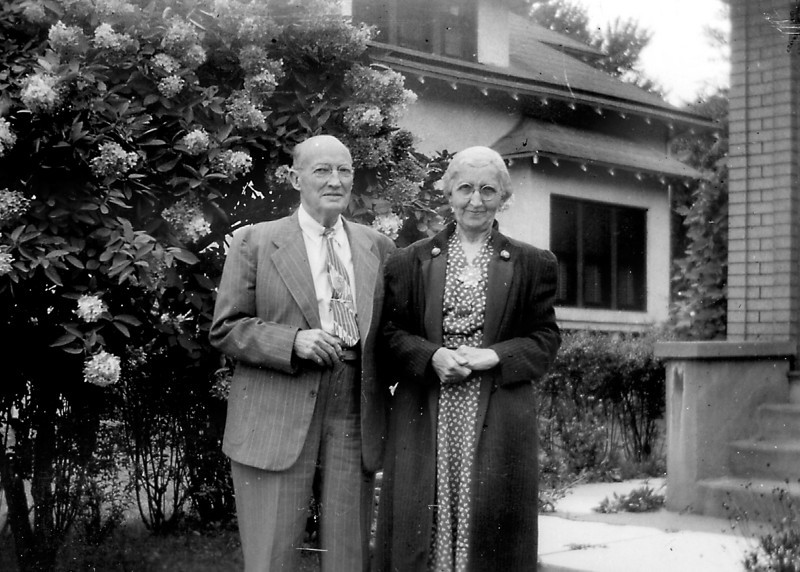 "Adelia ""Dot"" and Charles Heysinger"