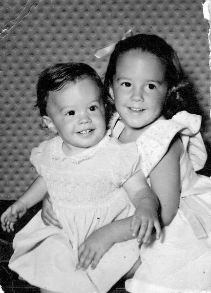 1955 - Jan and Deb-4yr-2yrs approx