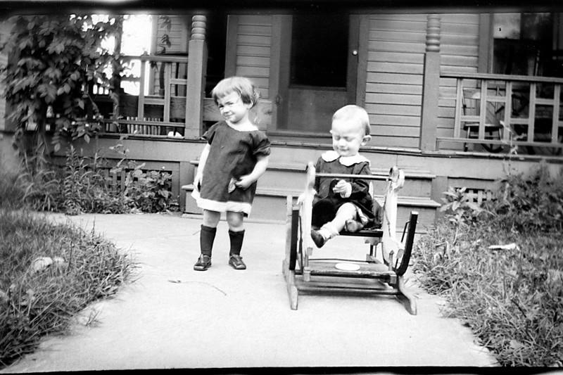 Jack and Dorothy Heysinger abt 1923