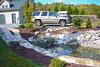 7-Added backyard running water pond