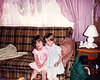 1991 Kerrie & Katie at home