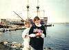 1993 Kerrie & Katie at Mayflower