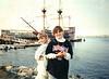 1993 Kerrie & Katie at Mayflower