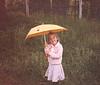 1991 Katie in yard